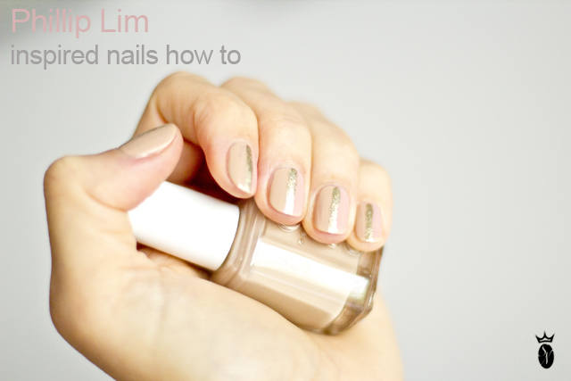 phillip lim nail tutorial for short nails