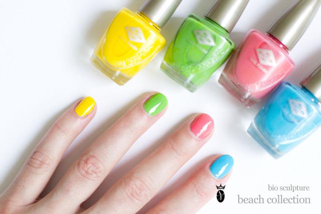 beach holiday nails 1