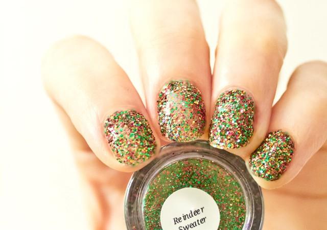 hello darling glitterbug nails