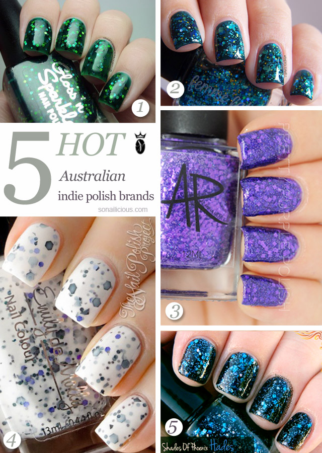 5 Hot Indie Polish Brands From Australia