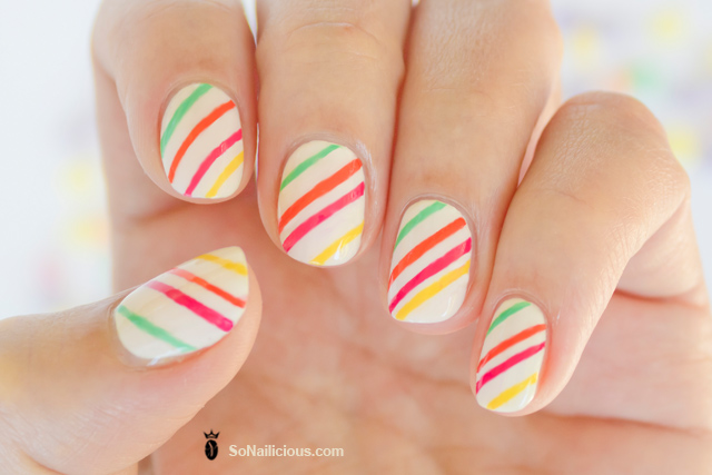 pretty candy nails