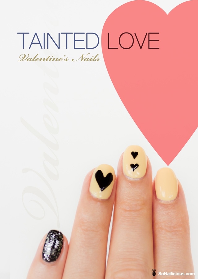 valentines nails tinted love nail art how to