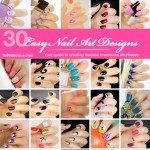 30 Easy Nail Art Designs e-book is available now!