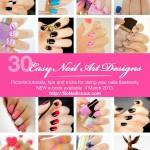 Announcement!  30 Easy Nail Art Designs e-book