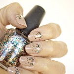 28 days of SoNailicious Nails – Day 7 – Nude nails with glitter