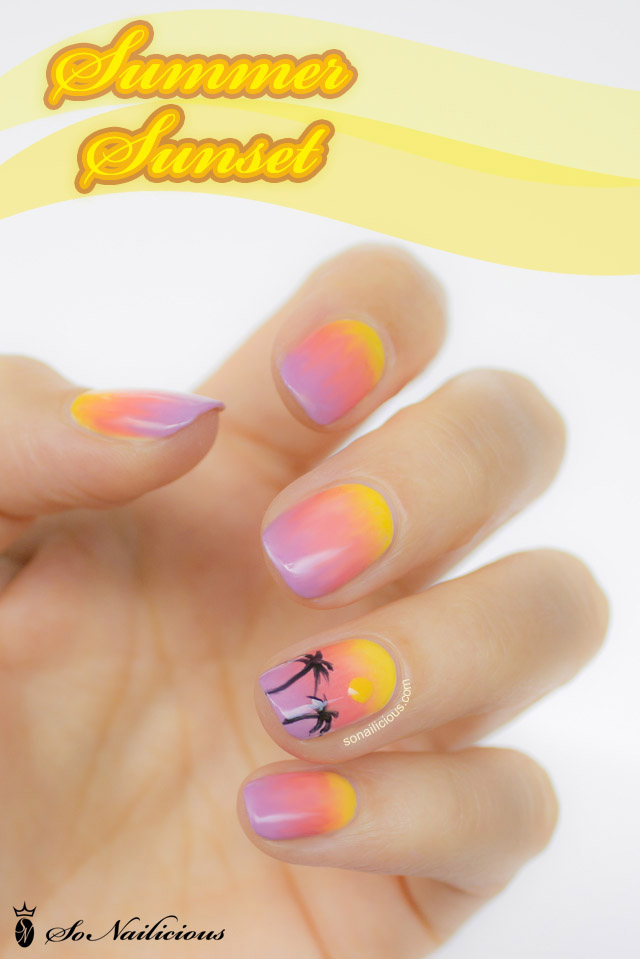 Ombre Nail Trend: 28 Days Of SoNailicious Nails