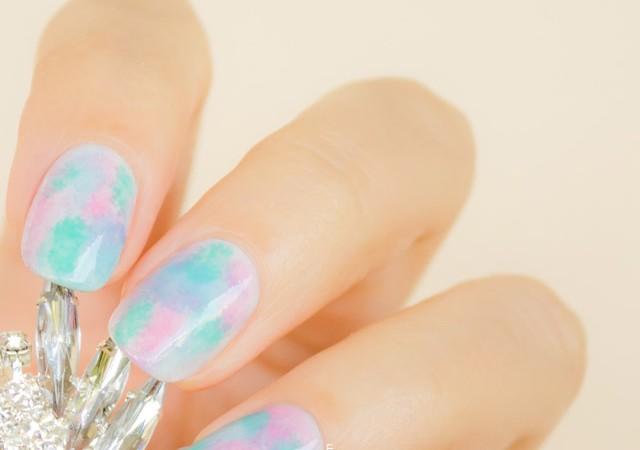 pretty pastel nails