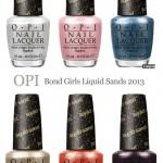 OPI Bond Girls Liquid Sand Collection