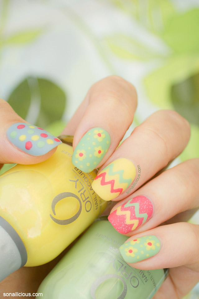 cute easter nails, spring nails