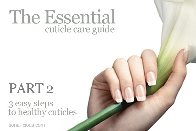healthy cuticles