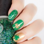 St Patrick's Day Nails & Tutorial