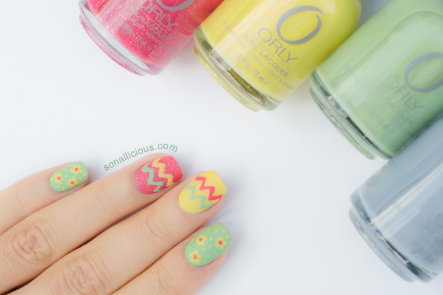 orly hope and freedom nail art 1
