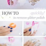 How To Remove Glitter Polish Quickly