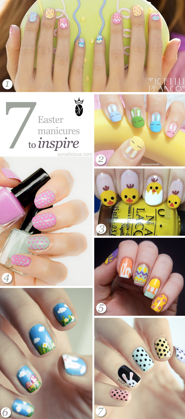 the best easter nails designs