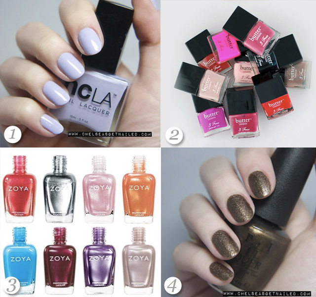 the best nail polish, opi, zoya, butter london
