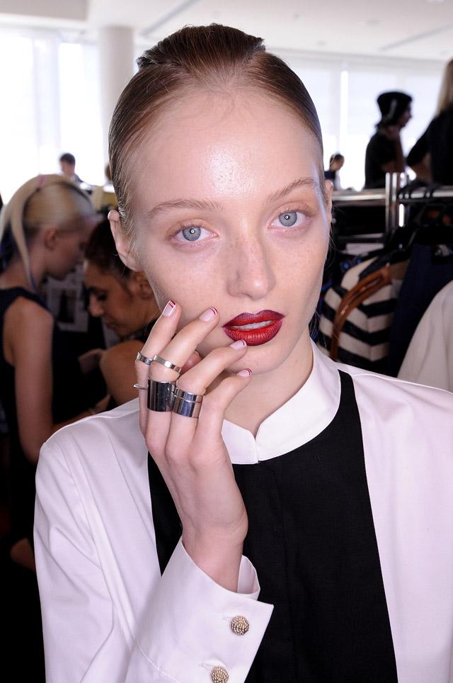 MBFWA 2013 Lisa Ho makeup nails