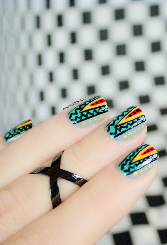 australian fashion week nails - SoNailicious