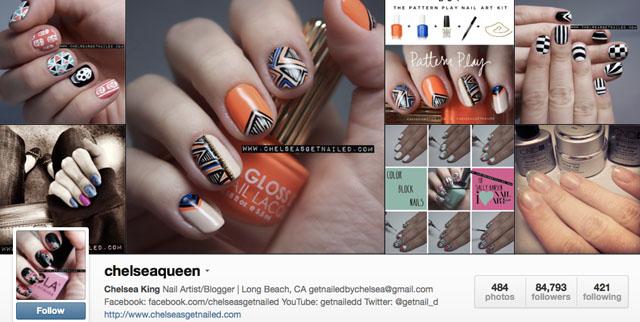 chelsea getnailed nails instagram