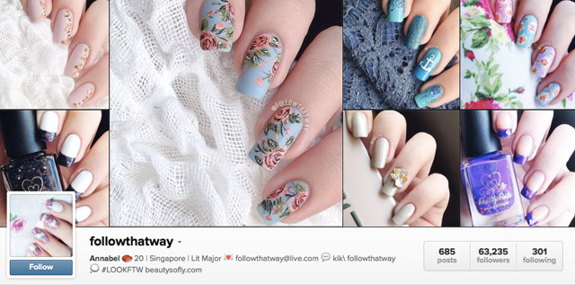 Top 10 nail instagram accounts to follow followthatway nails instagram prinsesfo Gallery