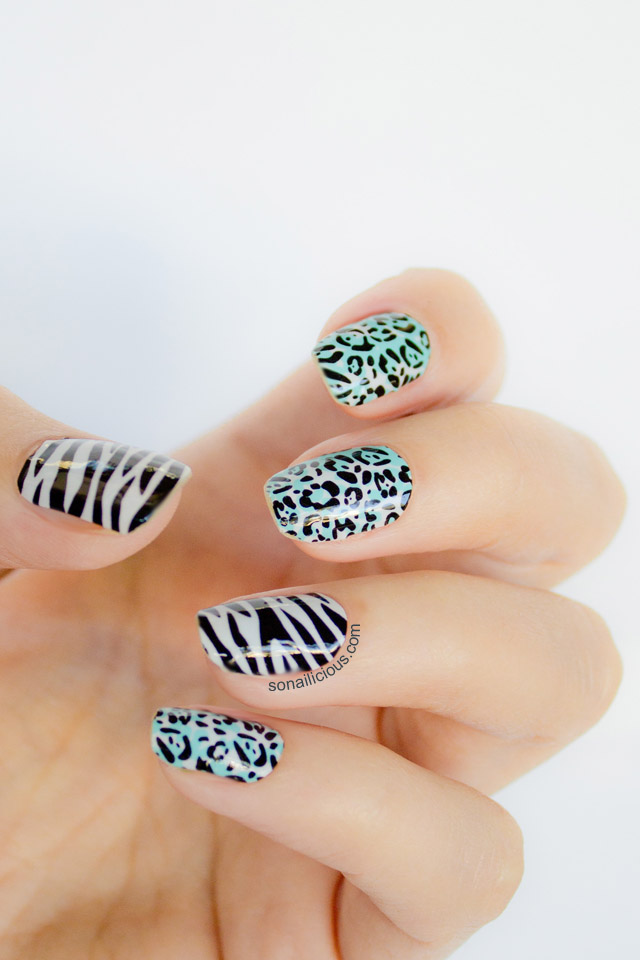 glam by manicare nail wraps