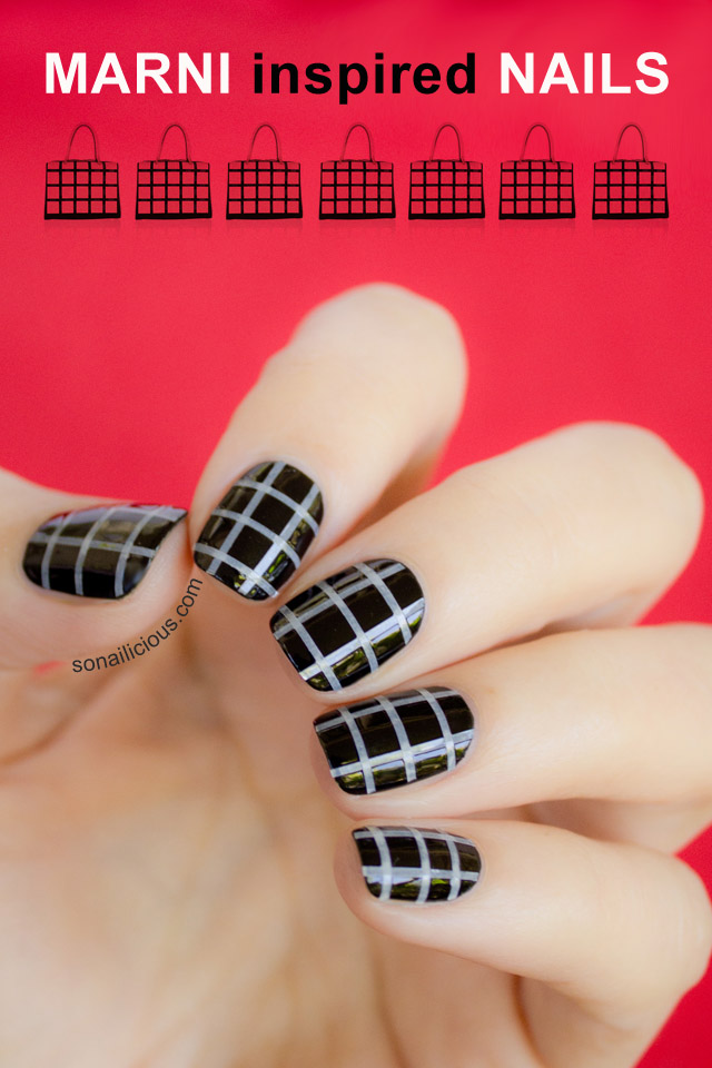 Marni Inspired Fashion Nails