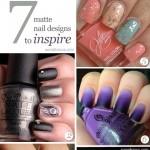 7 Stunning Matte Nail Designs