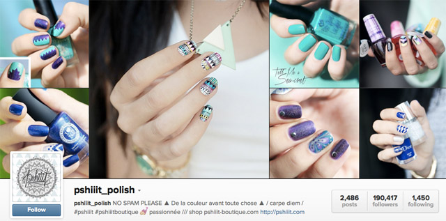 pshiiit nails instagram
