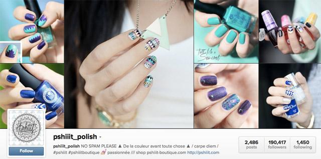 pshiiit nails instagram