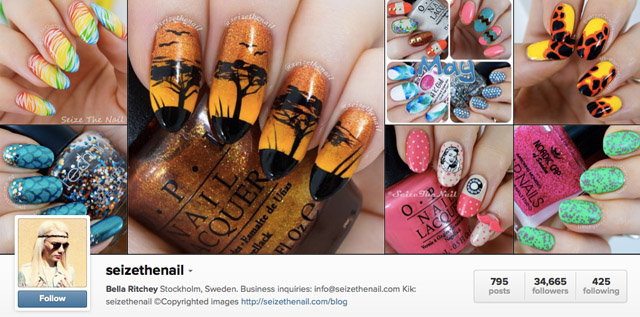 seize the nail instagram