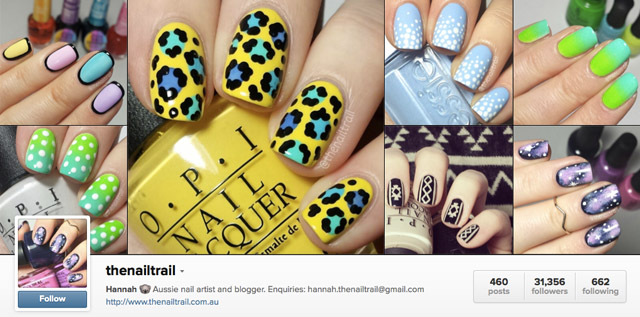 thenailtrail instagram