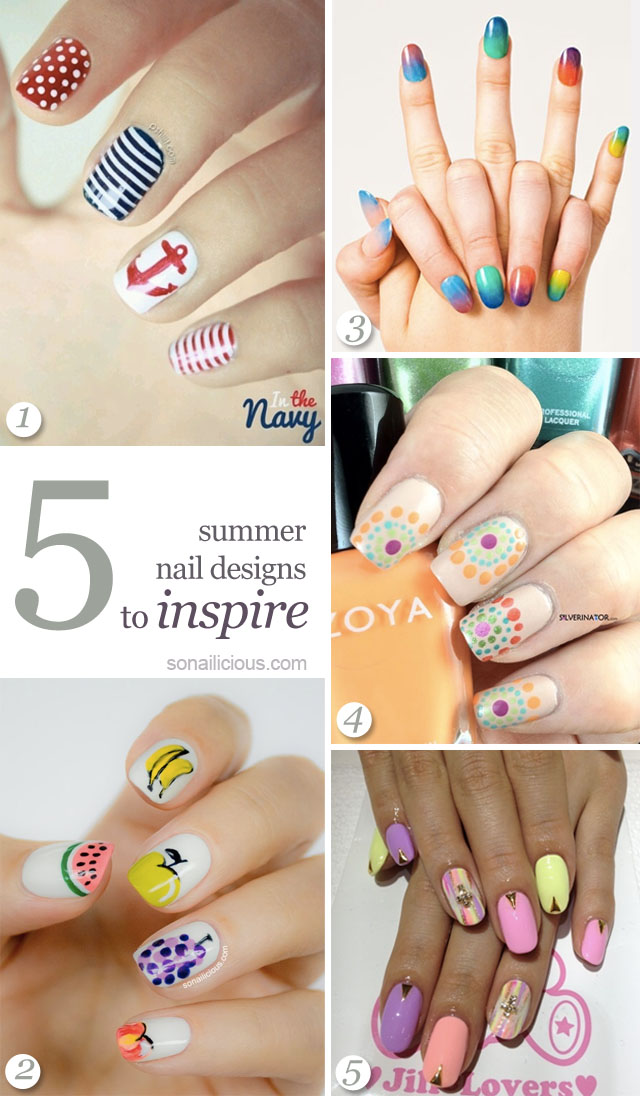 best summer nails designs