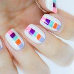 Tutorial: Summer Color Block Nails
