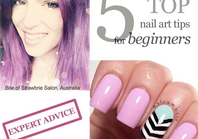 strawbrie nail art tips for beginners 1