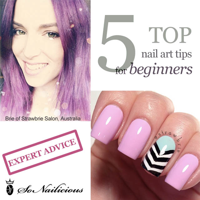 strawbrie nail art tips for beginners 1