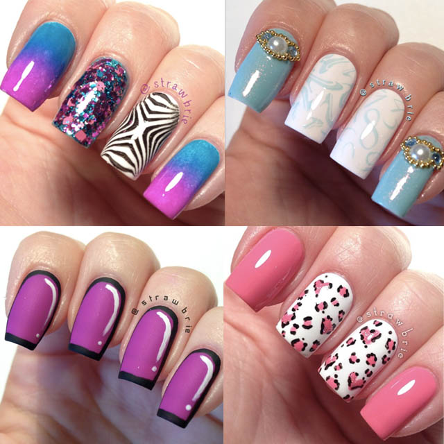 Top 5 nail art tips for beginners expert advice the best nail art strawbrie prinsesfo Gallery