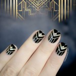 The Great Gatsby Inspired Nails – Tutorial