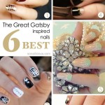 The Great Gatsby Inspired Nails – TOP 6