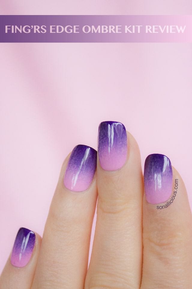 08d66db22b Fing'rs Edge Ombre Nails Kit - Review