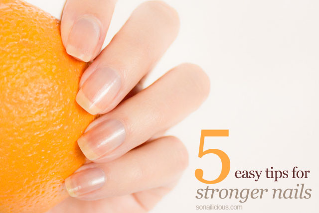 best tips for stronger nails