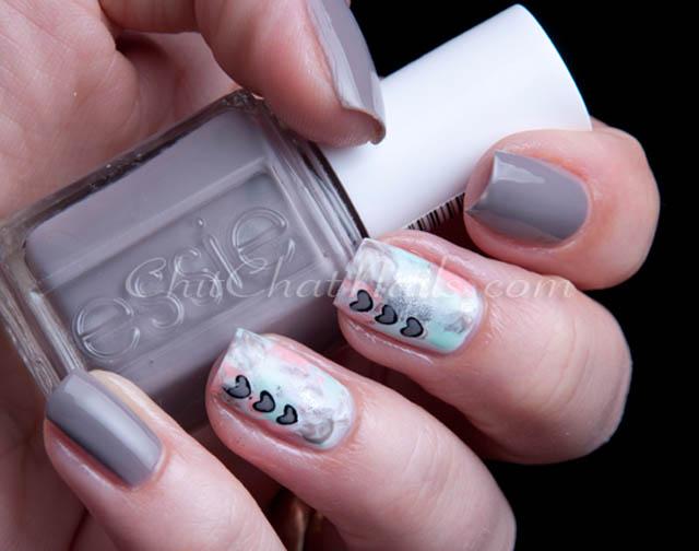 essie chinchilly nails
