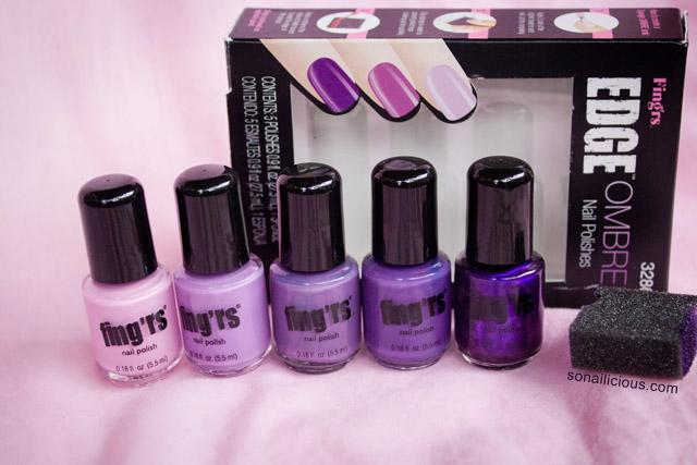 fingrs edge ombre nails kit review