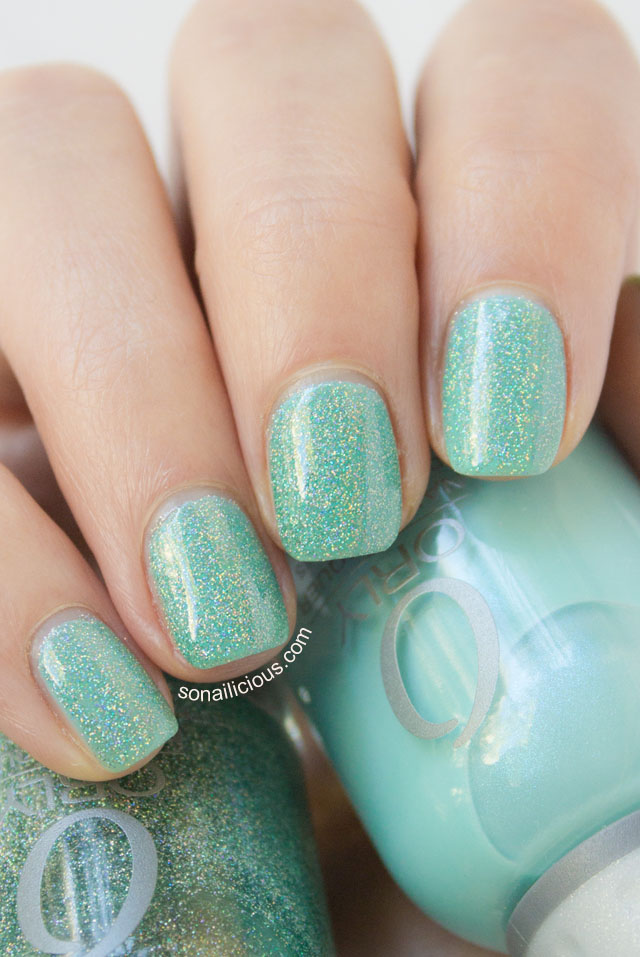 Orly Sparkling Garbage Review Amp Swatches