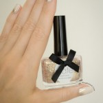 The Golden Hour – Reverse Glitter Gradient Nails