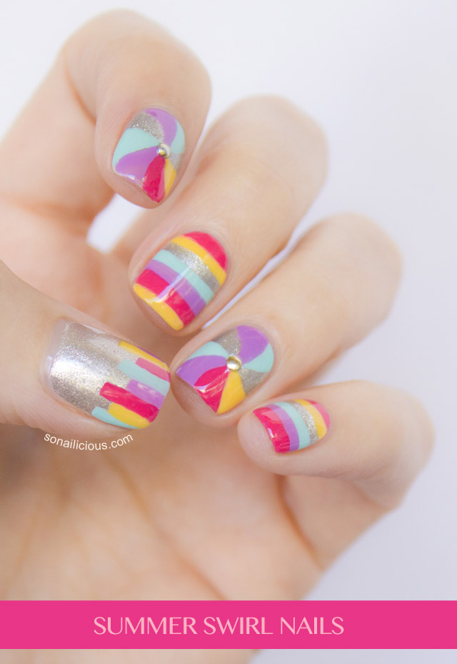 Fun Summer Nail Design