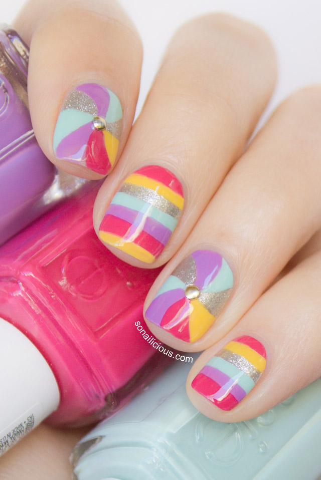 swirl nails