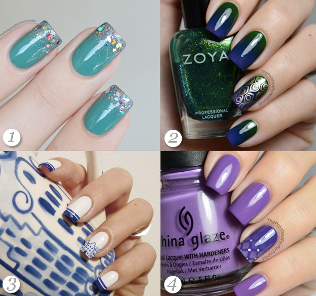 The Best Nail Art Polished Perfectionist Favourite Colour Combinations