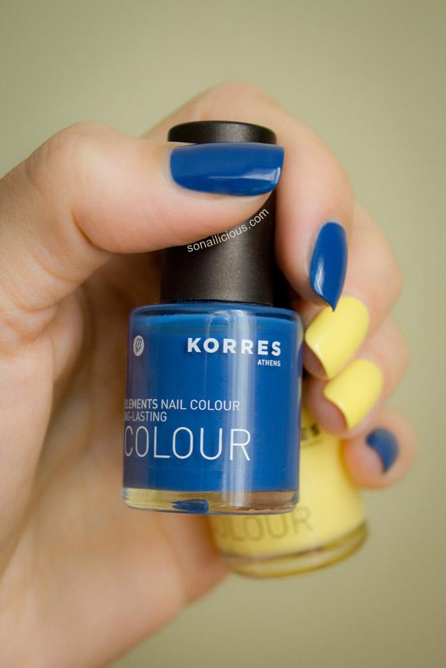 korres nail polish review