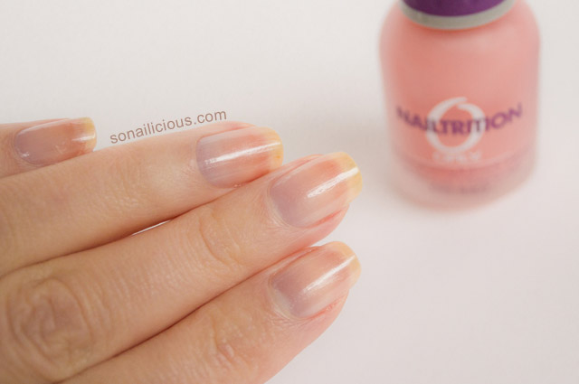 Orly Nailtrition Ingrints Instructions