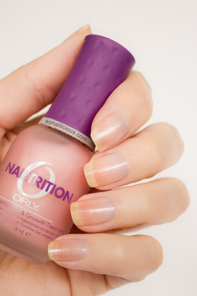 Orly Nailtrition Review - Grow your nails stronger!
