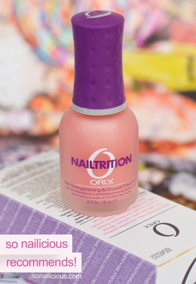 orly nailtrition
